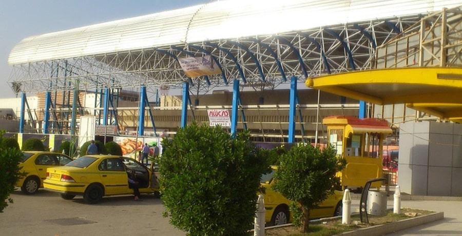 فرودگاه بین المللی اهواز استان خوزستان، اهواز
