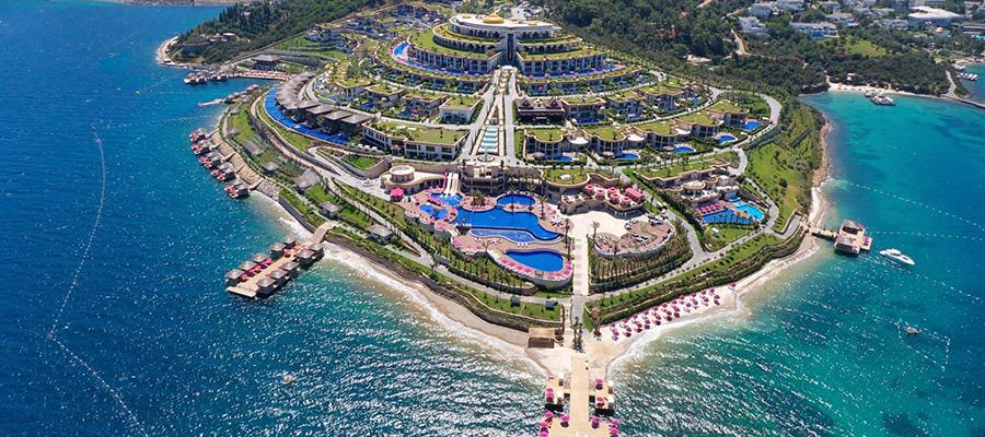 زیباترین سواحل در زیباترین شهر ترکیه - مارماریس