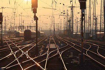 نقشه راه آهن ایران
