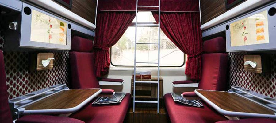 قطار غزال رجا و بن ریل؛ تجربه بهترین سفر در ایام نوروز