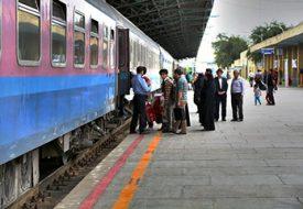نقشه، تصاویر و قطارهای راه آهن شیراز مشهد