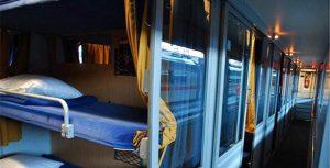 قطار نسیم رجا تخت خواب ها