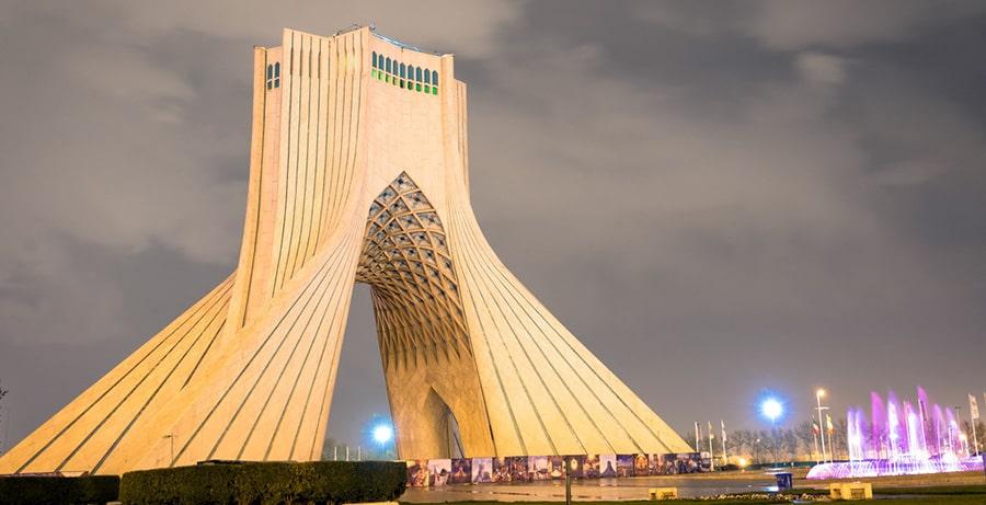 تهران میدان آزادی