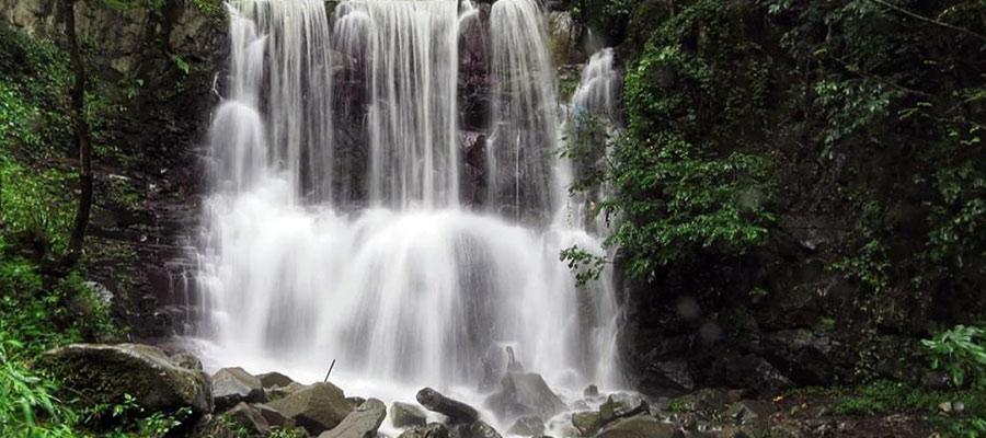آبشار رامینه در شهر ماسال