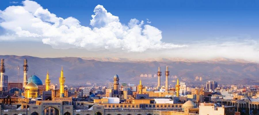 بارگاه امام رضا در مشهد مقدس
