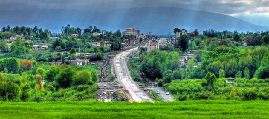 کوه و دشت زیبای شهر اردبیل