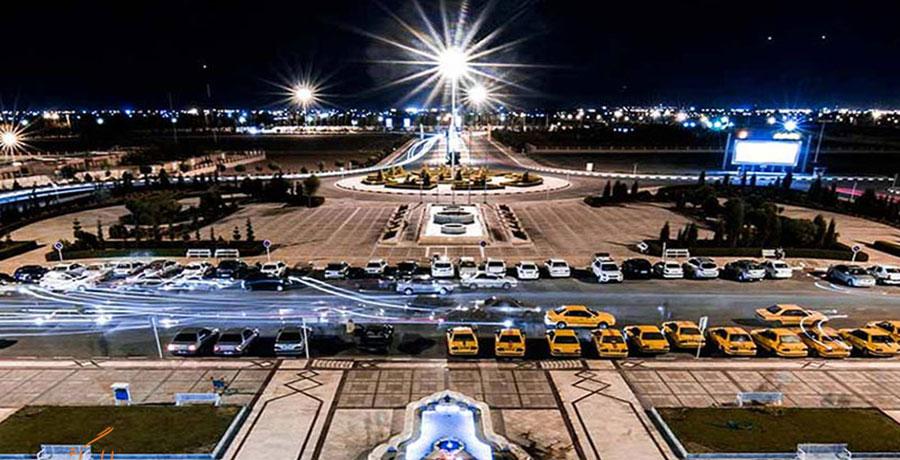 فرودگاه یزد، فر.دگاه بین المللی شهید صدوقی