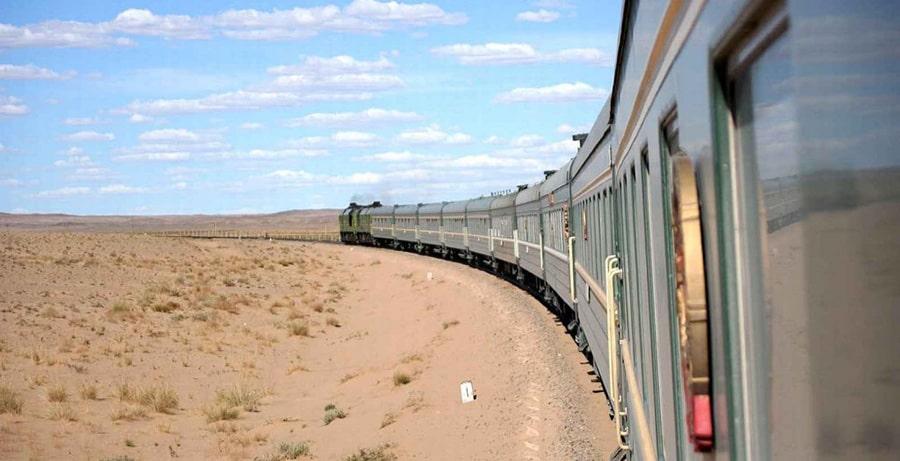 قطار در جاه