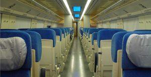 عکس قطار دو طبقه صبا