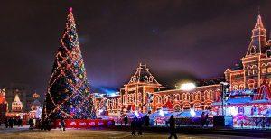 عکس درخت کریسمس در ارمنستان