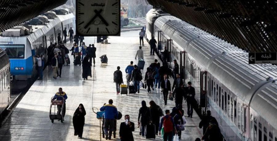 مسافران مسیر قطار تهران کرمانشاه