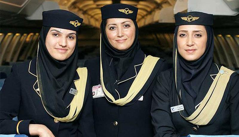 عکس مهمانداران هواپیمایی ایران ایر