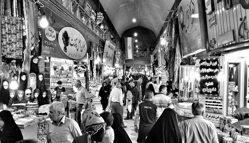 عکس بازار وکیل مشهد به عنوان یک جاذبه گردشگری مهم نزدیک حرم