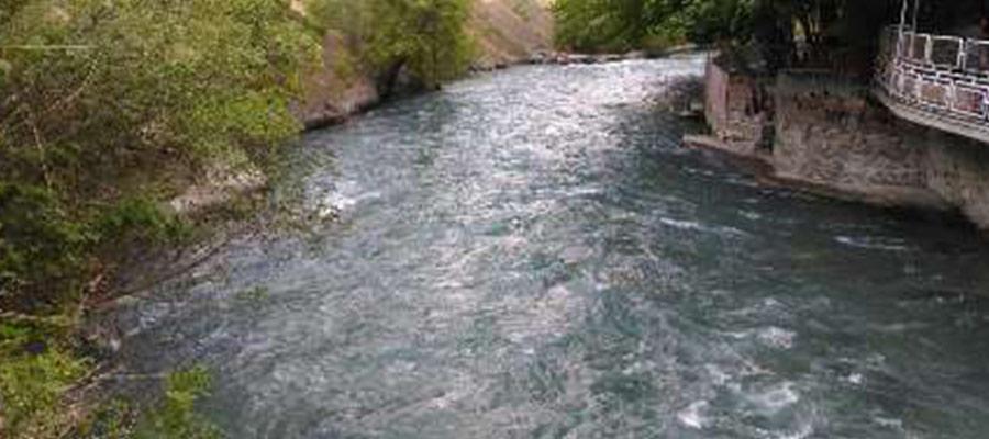 چالوس زیباترین رودخانه ایران
