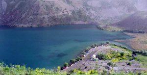 نمایی از دریاچه گهر