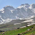 کوه های سبلان سرعین