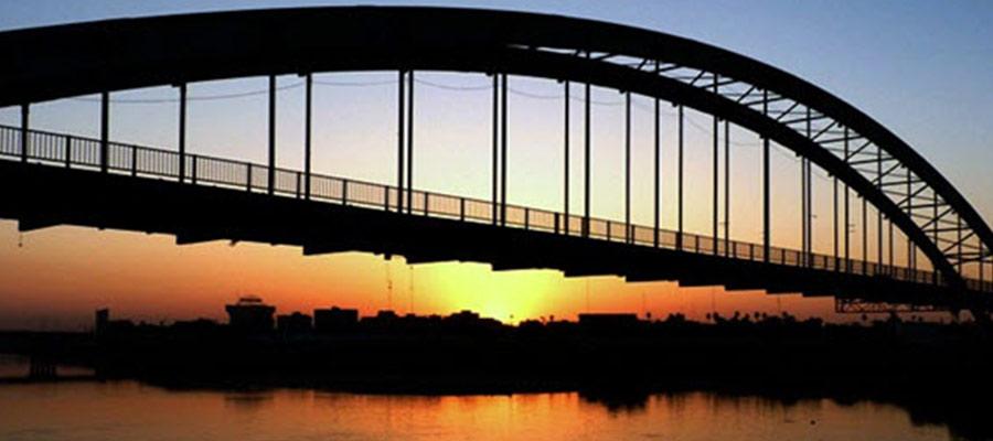 کارون زیباترین رودخانه شهر اهواز