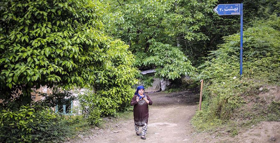روستای کنف گوراب، زیباترین روستای لاهیجان
