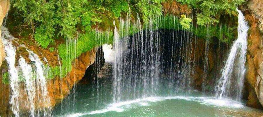 آبشارهای سمیرم زیباترین آبشار در ایران