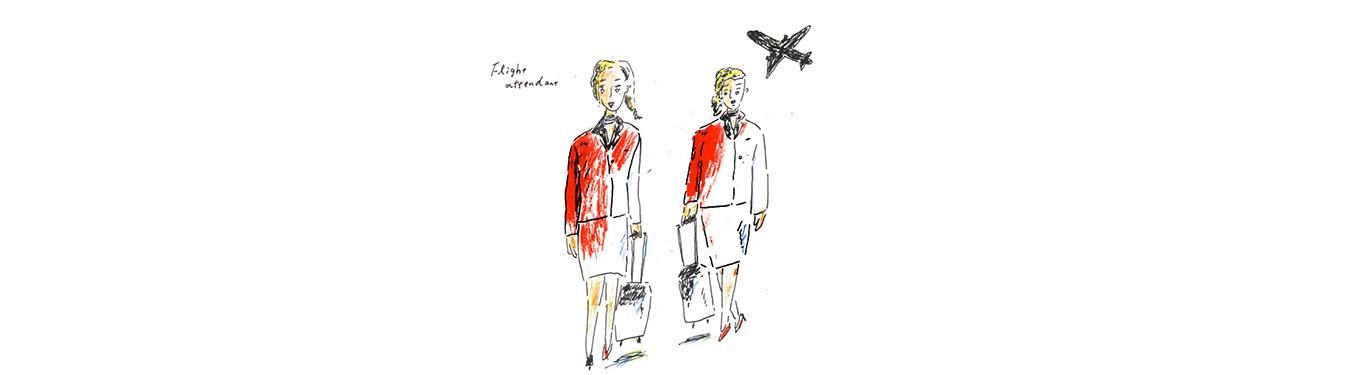 شغل مهماندار هواپیما مناسب چه کسانی است؟