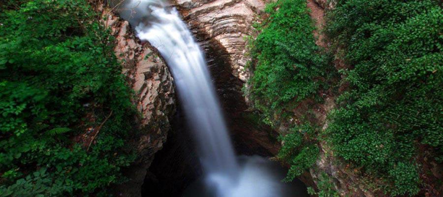 ویسادار زیباترین آبشار در ایران